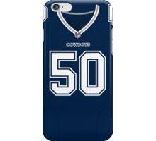 Dallas Cowboys Sean Lee Color Jersey iPhone Case/Skin