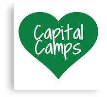 Capital Camps Canvas Print