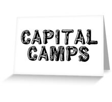 Capital Camps Greeting Card