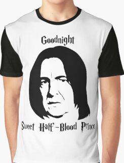 Severus Snape - Goodnight Sweet Half-Blood Prince Graphic T-Shirt