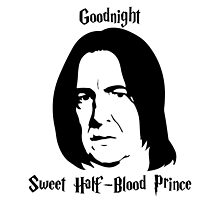 Severus Snape - Goodnight Sweet Half-Blood Prince by rhodry