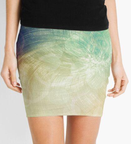 Gilded Mini Skirt