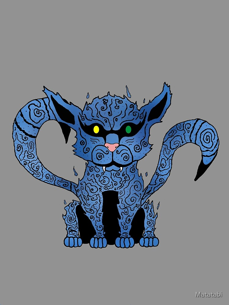 Zoan Devil Fruit Weapon: Odd Eyed Cat Model Flat,1000x1000,075,f.u1