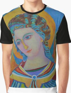 Archangel Gabriel oil painting Graphic T-Shirt