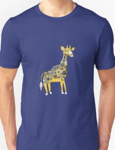 Giraffe with Flower Spots T-Shirt