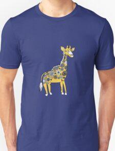 Giraffe with Flower Spots T-Shirt