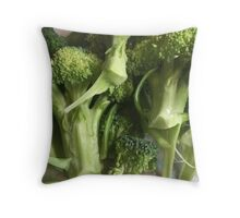 Broccoli Freckles  Throw Pillow