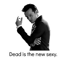 Sherlock - Dead Is The New Sexy Photographic Print