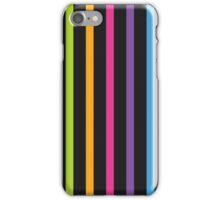 Bright Hue Dark Stripe Pattern iPhone Case/Skin