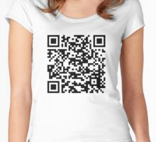 QR Women's Fitted Scoop T-Shirt