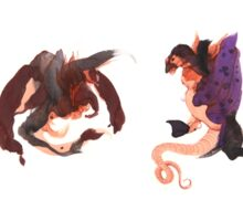Dragon Doodles Sticker