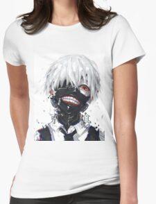 """Kaneki Ken Tokyo Ghoul"" Womens Fitted T-Shirt"