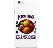 Wolverines! Bowl Champions Again! iPhone Case/Skin