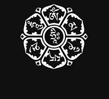 Om Mani Padme Hum (white on dark) T-Shirt
