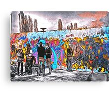 'Graffiti Street' - Abstract Graffiti Art Canvas Print