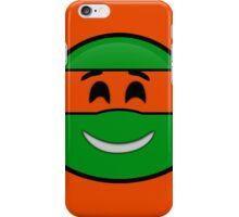Emoji Michelangelo - Happy iPhone Case/Skin