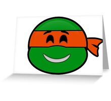 Emoji Michelangelo - Happy Greeting Card