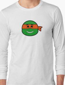 Emoji Michelangelo - Happy Long Sleeve T-Shirt