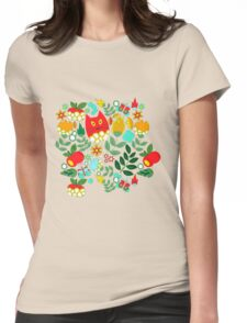 Pattern #11  Womens Fitted T-Shirt