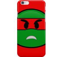 Emoji Raphael - Angry iPhone Case/Skin