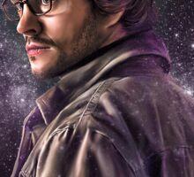 Hannibal Galaxy Print - Will Graham Sticker