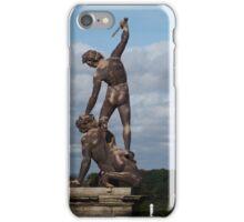 Seaton Deleval Hall Statue iPhone Case/Skin