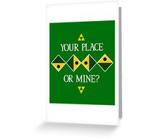 Wind Waker: Ballad of Gales Greeting Card