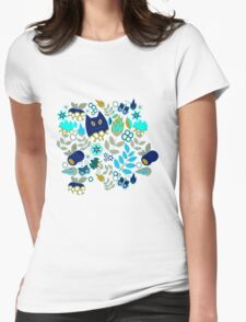 Pattern #12  Womens Fitted T-Shirt