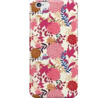 Girly Retro Floral Pattern iPhone Case/Skin