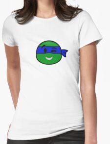 Emoji Leonardo - Wink Womens Fitted T-Shirt