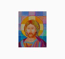 Jesus Christ Pantokrator. Made in Poland art. Christian icon original painting Unisex T-Shirt