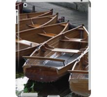 Rowing Boats For Hire iPad Case/Skin