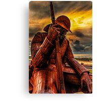 Seaham Tommy - Tired of War Canvas Print