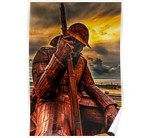 Seaham Tommy - Tired of War Poster