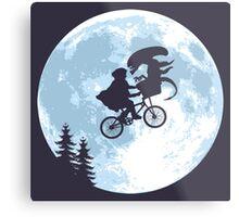 E.T. the Extra-Terrestrial - Xenomorph Metal Print