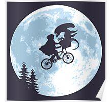 E.T. the Extra-Terrestrial - Xenomorph Poster