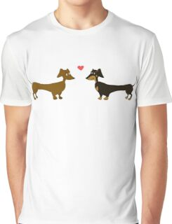 Dachshund Love - Dachshund Graphic T-Shirt