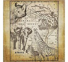 Vintage Africa Photographic Print