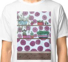 Plants versus flowers Classic T-Shirt