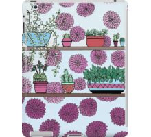 Plants versus flowers iPad Case/Skin