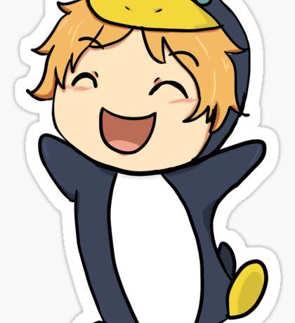 Penguin Nagisa Sticker