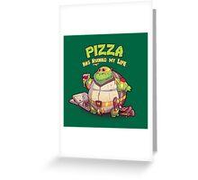Teenage Mutant Ninja Turtles - Fat Michelangelo Greeting Card