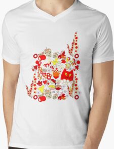 Pattern #14  Mens V-Neck T-Shirt