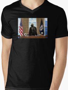 The President Mens V-Neck T-Shirt