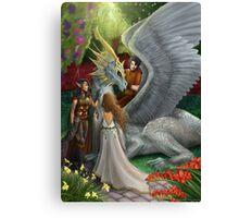 Dragoon fantasy Canvas Print
