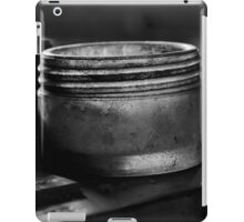Glass jar mono iPad Case/Skin