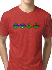 Emoji's TMNT Tri-blend T-Shirt