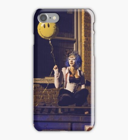 Smile Lonely Clown iPhone Case/Skin