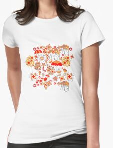Pattern #13  Womens Fitted T-Shirt