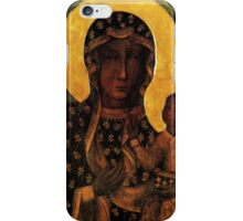 Virgin Mary Black Madonna of Czestochowa iPhone Case/Skin